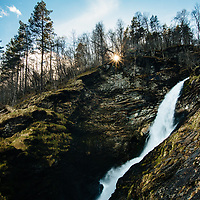 Svandalsfossen Falls, Ryfylke National Tourist Route, Norway