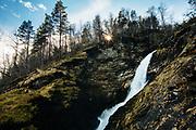 Svandalsfossen Falls, Ryfylke National Tourist Route, Norway