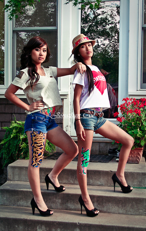 Models: Jenny Chansombat &amp; Melanie Sothavy<br /> Location: Fresno, CA