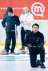President of CZS David Stonic at 1st Curling National Championship, on December 19, 2010 in Dvorana Zalog, Ljubljana, Slovenia. (Photo By Matic Klansek Velej / Sportida.com)