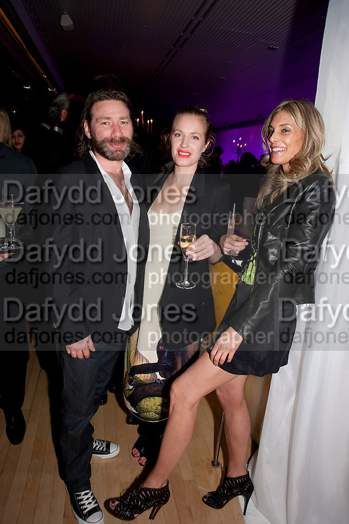 MAT COLLISHAW; POLLY MORGAN; KIM HERSOV, An evening at Sanderson to celebrate 10 years of Sanderson, in aid of Clic Sargent. Sanderson Hotel. 50 Berners St. London. W1. 27 April 2010 *** Local Caption *** -DO NOT ARCHIVE-© Copyright Photograph by Dafydd Jones. 248 Clapham Rd. London SW9 0PZ. Tel 0207 820 0771. www.dafjones.com.<br /> MAT COLLISHAW; POLLY MORGAN; KIM HERSOV, An evening at Sanderson to celebrate 10 years of Sanderson, in aid of Clic Sargent. Sanderson Hotel. 50 Berners St. London. W1. 27 April 2010