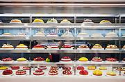 bakery shop display inside the Kyoto Shinkansen train station shopping center