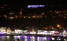 Oban lit up as part of STV appeal | Oban | 23 September 2016