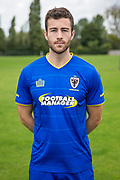 Jon Meades during the AFC Wimbledon Photocall 2017 at the Kings Sports Ground, New Malden, United Kingdom on 1 August 2017. Photo by Shane Healey.