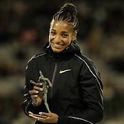 Nafissatou Thiam (Belgium) Women's High Jump during the IAAF Diamond League event at the King Baudouin Stadium, Brussels, Belgium on 6 September 2019.