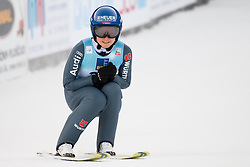 February 8, 2019 - Carina Vogt of Germany on first competition day of the FIS Ski Jumping World Cup Ladies Ljubno on February 8, 2019 in Ljubno, Slovenia. (Credit Image: © Rok Rakun/Pacific Press via ZUMA Wire)
