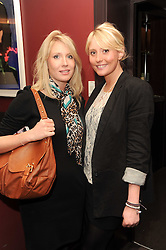 A party to promote the exclusive Puntacana Resort & Club - the Caribbean's Premier Golf & Beach Resort Destination, was held at The Groucho Club, 45 Dean Street London on 12th May 2010.<br /> <br /> Picture shows:-Left to right, LAURA KING and AMY KING