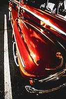 Fender of classic car in Bainbridge, WA.  Copyright 2008 Reid McNally.
