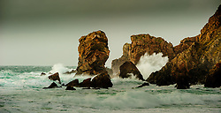 Sea stacks pounded by Atlantic waves at Dalmore, Isle of Lewis, Outer Hebrides, Scotland<br /> <br /> (c) Andrew Wilson | Edinburgh Elite media
