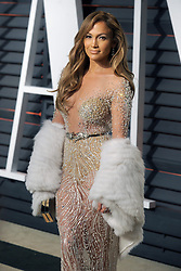Jennifer Lopez in attendance for 2015 Vanity Fair Oscar Party Hosted By Graydon Carter at Wallis Annenberg Center for the Performing Arts on February 22, 2015 in Beverly Hills, California. EXPA Pictures © 2015, PhotoCredit: EXPA/ Photoshot/ Dennis Van Tine<br /> <br /> *****ATTENTION - for AUT, SLO, CRO, SRB, BIH, MAZ only*****