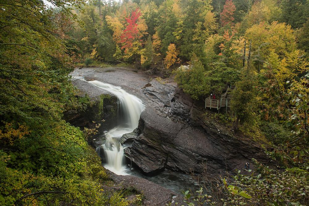 Rainbow Falls<br /> Black River