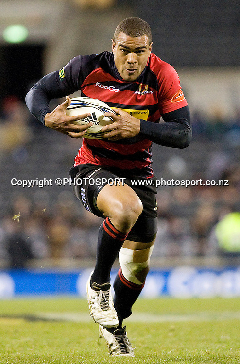 Canterbury's winger Patrick Osbourne runs with the ball. ITM Cup. Canterbury v Wellington at AMI Stadium, Christchurch. Friday 30 July 2010. Photo: Joseph Johnson/PHOTOSPORT