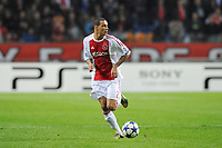 FOOTBALL - UEFA CHAMPIONS LEAGUE 2010/2011 - GROUP STAGE - GROUP G - AJAX AMSTERDAM v AJ AUXERRE - 19/10/2010 - PHOTO GUY JEFFROY / DPPI - GREGORY VAN DER WIEL (AJAX)