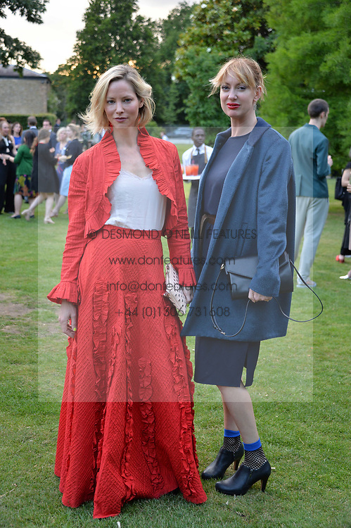 Left to right, Sienna Guillory and Kerry Davenport-? at the Dulwich Picture Gallery's inaugural Summer Party, Dulwich Picture Gallery, College Road, London England. 13 June 2017.