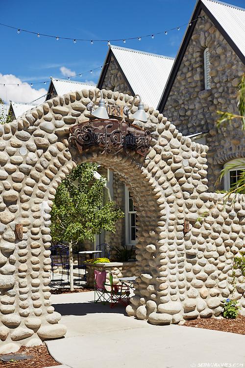 Summer in the South Main development of Buena Vista, Colorado.