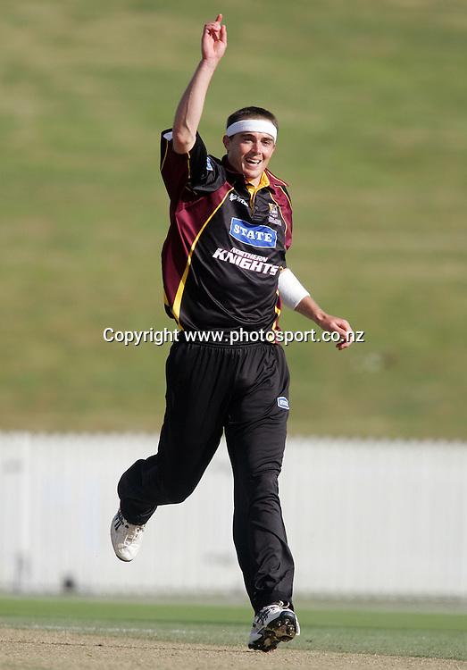 Aldridge, bowls Luke Woodcock, lbw for 7 runs