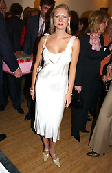 ANOUSKA DE GEORGIOU the at a party attended by HRH The Countess of Wessex to celebrate the 5th birthday of Breast Cancer Haven's - The London Haven, Effie Road, London on 10th February 2005.<br /><br />NON EXCLUSIVE - WORLD RIGHTS