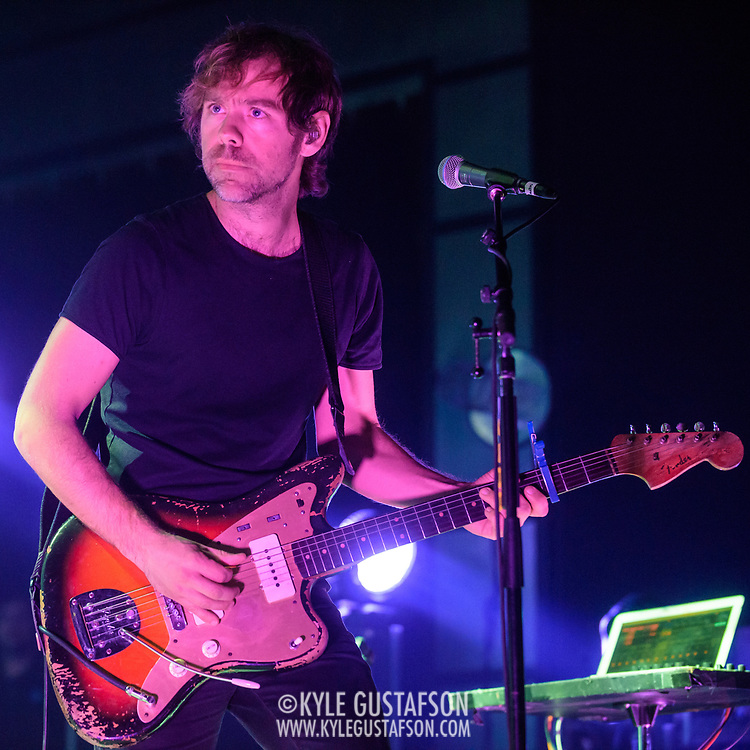 WASHINGTON, DC - December 5th, 2017 - Aaron Dessner of The National performs at The Anthem in Washington, D.C.  The band released their  seventh album, Sleep Well Beast, in September. (Photo by Kyle Gustafson / For The Washington Post)