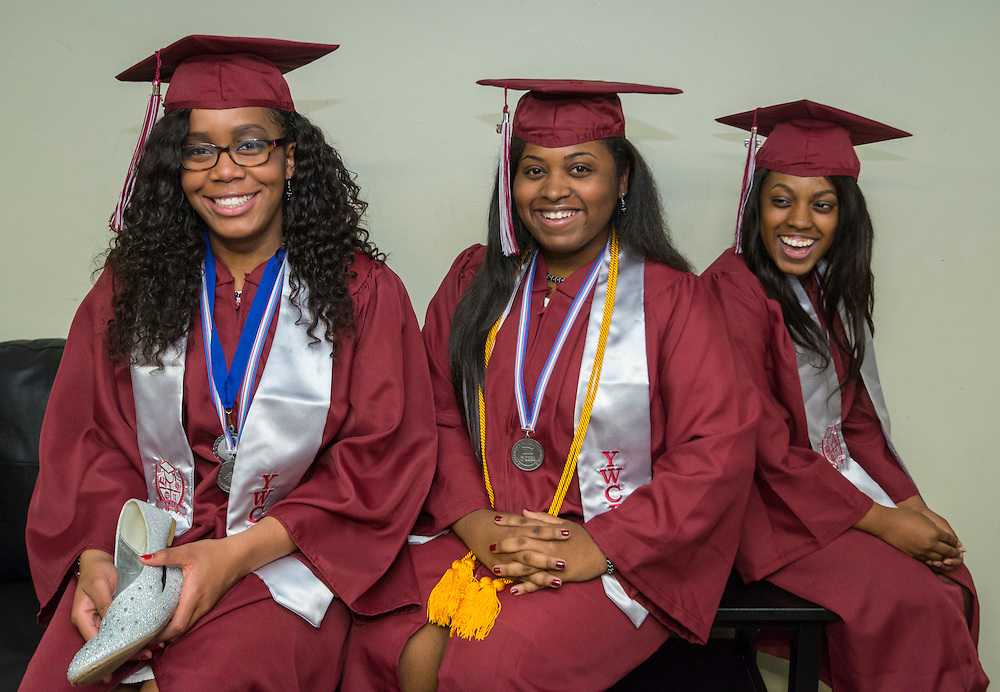 Young Women's College Preparatory Academy graduation ceremony, May 31, 2015.
