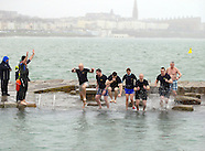 Polar plunge at the Forty Foot