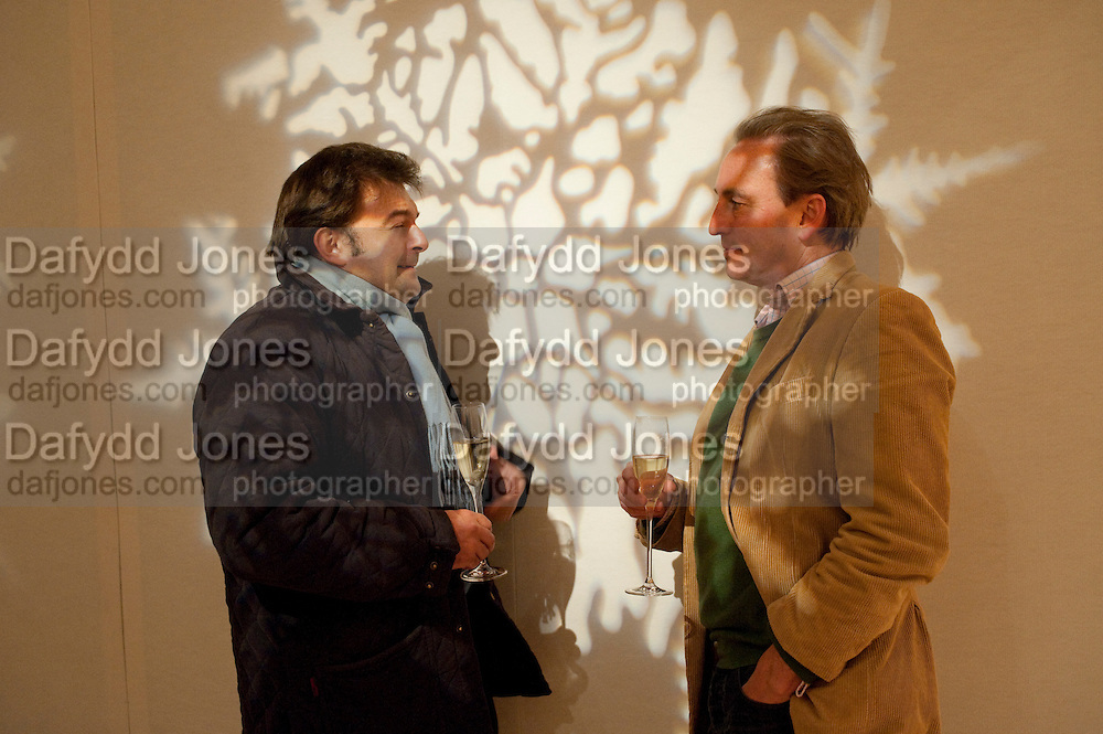 MATTHEW HALL; PHILIP MOULD , Bonhams Auction house hosts festive drinks to preview the first phase of the reconstruction of its Mayfair Headquarters - due for completion in 2013.<br /> Bonhams, 101 New Bond Street, London, 19 December 2011.