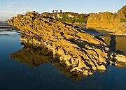 Pohara Beach sunset, South Island, New Zealand