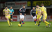 Dundee&rsquo;s Kevin Holt plays a pass - Dundee v Hearts in the Ladbrokes Scottish Premiership at Dens Park, Dundee. Photo: David Young<br /> <br />  - &copy; David Young - www.davidyoungphoto.co.uk - email: davidyoungphoto@gmail.com