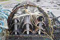 Lobster pots on the Aran Islands Galway Ireland