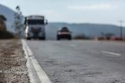 Itabirito_MG, Brasil.<br /> <br /> Rachaduras na BR 040 altura do KM 570 em Itabirito, Minas Gerais.<br /> <br /> The higway BR 040 in KM 570 in Itabirito, Minas Gerais.<br /> <br /> Foto: LEO DRUMOND / NITRO