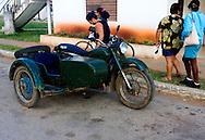 Motorcycle in Bolivia, Ciego de Avila Province, Cuba.