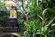 Praying Altar at Ametis Villa in Canggu. Bali, Indonesia.