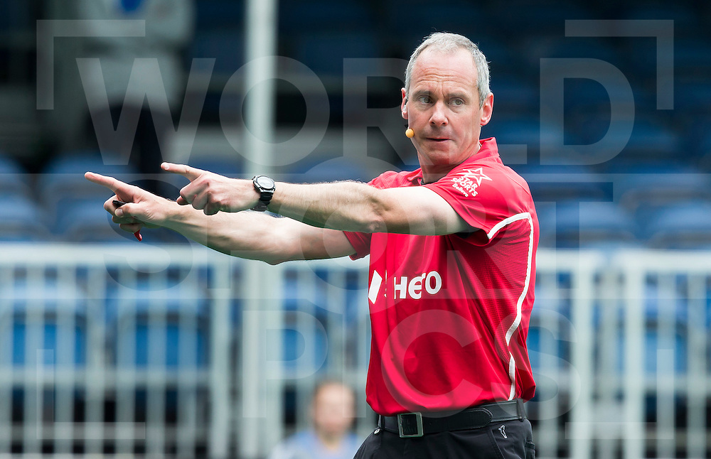 ANTWERP -    Dutch umpire Roel van Eert during  the match between  the men of Great Britain and Ireland (2-2)  WSP COPYRIGHT KOEN SUYK