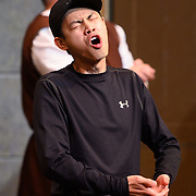 """Actors rehearse for an upcoming play titled <br /> A Funny Thing Happened on the Way to the Forum"""" in Hillsboro, Ore., on Wednesday, May 22, 2019. (PMG photo: Christopher Oertell)"""