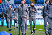 Bristol City defender Ashley Williams (29) arrives at the ground during the EFL Sky Bet Championship match between Leeds United and Bristol City at Elland Road, Leeds, England on 15 February 2020.