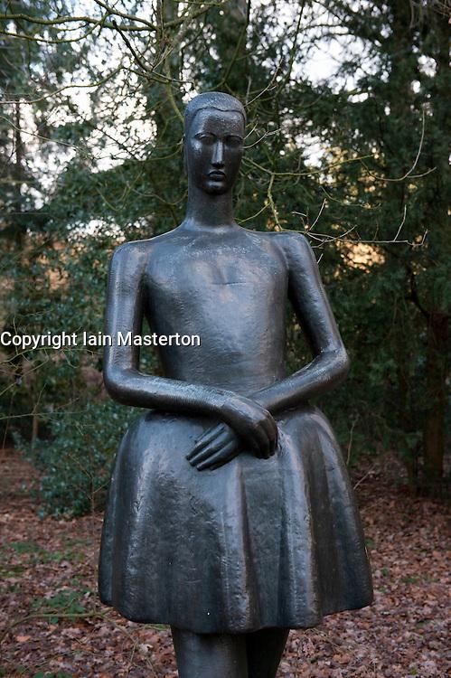 Sculpture Danseres by Oscar Jespers at Kroller-Muller Museum in The Netherlands