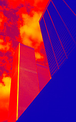 World trade center twin towers Abstract design image pre 9/11 death destruction terror terrorist terrorism