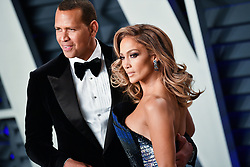Jennifer Lopez and Alex Rodriguez attending the 2019 Vanity Fair Oscar Party hosted by editor Radhika Jones held at the Wallis Annenberg Center for the Performing Arts on February 24, 2019 in Los Angeles, CA, USA. Photo by David Niviere/ABACAPRESS.COM