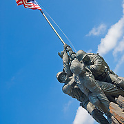 Marine Corps (Iwo Jima) Memorial, Arlington, VA Editorial use only.