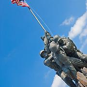 Marine Corps (Iwo Jima) Memorial, Arlington, VA Editorial use only.