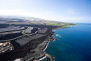 Aerial, Kona Coast, Island of Hawaii