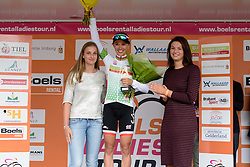 Kasia Niewiadoma (Rabo Liv) wins the points competition after the 119 km Stage 6 of the Boels Ladies Tour 2016 on 4th September 2016 from Bunde to Valkenburg, Netherlands. (Photo by Sean Robinson/Velofocus).