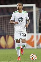 Luiz Gustavo Dias Wolfsburg, <br /> Napoli 23-04-2015 Stadio San Paolo <br /> Football Calcio UEFA Europa League Quarter-finals, second len. Napoli - Wolfsburg.<br /> Foto Cesare Purini / Insidefoto