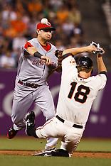 20100823 - Cincinnati Reds at San Francisco Giants (Major League Baseball)