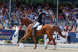 Auffarth Sandra, GER, Viamant Du Matz<br /> European Championship Eventing<br /> Luhmuhlen 2019<br /> © Hippo Foto - Stefan Lafrentz