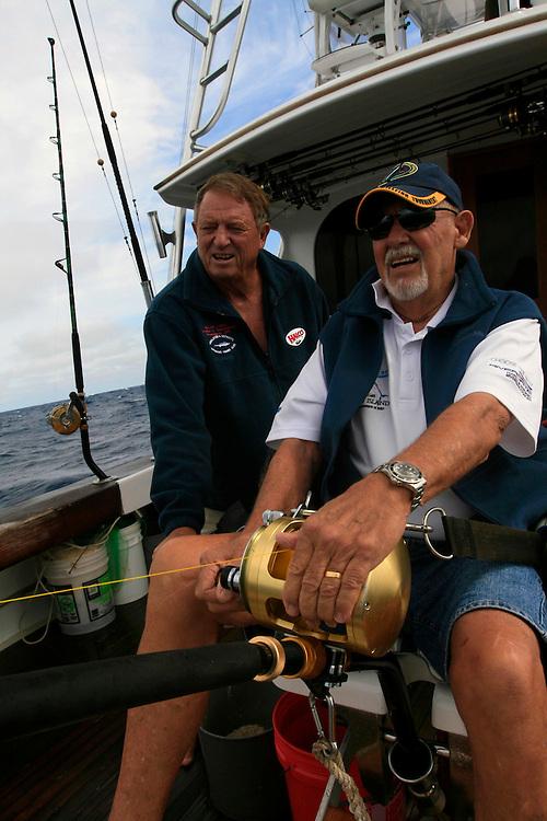 Daytime swordfishing in Islamorada on the Catch 22 with Richard Stanczyk.