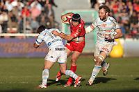 Matt GITEAU - 10.01.2015 - Toulon / Racing Metro - 16e journee Top 14<br />Photo : Jc Magnenet / Icon Sport