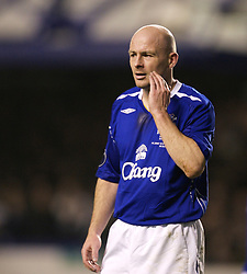 Liverpool, England - Wednesday, December 5, 2007: Everton's Andrew Johnson in action against Zenit St. Petersburg during the UEFA Cup Group A match at Goodison Park. (Photo by David Rawcliffe/Propaganda)