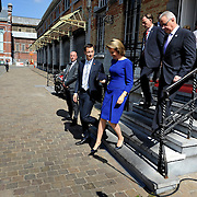 20150604- Brussels - Belgium - 04 June2015 - European Development Days - EDD  - Queen Mathilde of Belgium, Neven Mimica Defco and Alexander De Croo Belgian Minister  © EU/UE