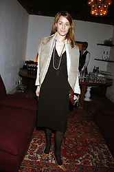 Actress GEORGIE RYLANCE at the Grand Classic screening of The Apartment held at The Electric Cinema, 191 Portobello Road, London on 16th March 2008.<br />