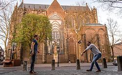 19-04-2016 NED: Portret Jelle van Jaarsveld, Utrecht<br /> Van Jaarsveld was 2002-2007 Nederlands jeugdinternational. Tot 2007 speelde hij bij Martinus Amstelveen en vervolgens bij Ortec Rotterdam Nesselande. Na de tweede plaats in 2008, werd hij landskampioen in 2009. Daarna speelde hij voor het  Belgische Aquacare Halen, Precura Antwerpen en het Duitse Evivo D&uuml;ren en Moerser SC. Uiteindelijk speelt hij weer in Nederland bij Taurus Houten